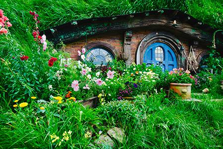 Klassisches Hobbiton Neuseeland