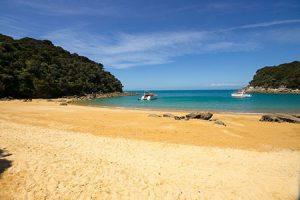 Abel Tasman Nationalpark. Klassiker Neuseeland.
