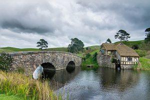 Hobbiton Neuseeland Film Set