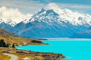 Lake Pukaki Neuseeland
