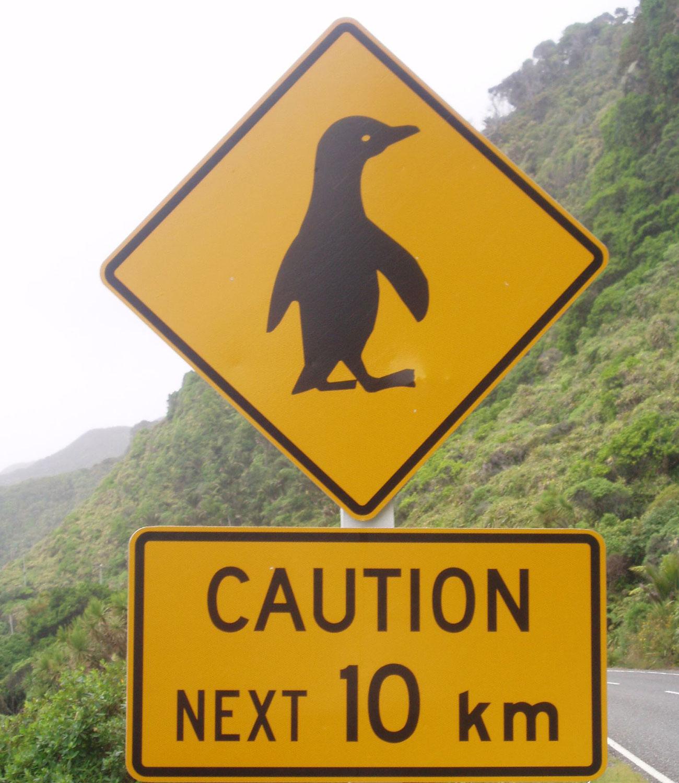 Klassisches Neuseeland Schild