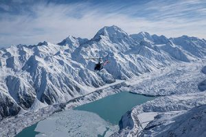 Mount Cook Hubschrauber Outdoor Paradise