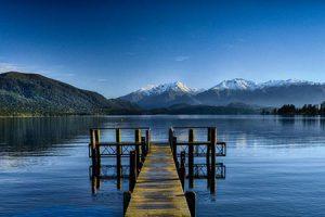 Te Anau Neuseeland Naturkundliche Reise