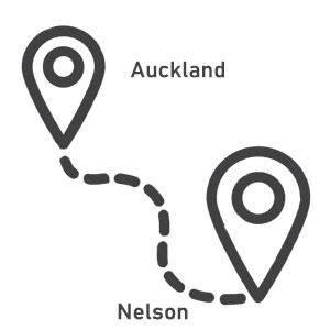 Fahrzeiten Autofahren Neuseeland