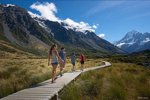 Mount Cook Nationalpark Wandern
