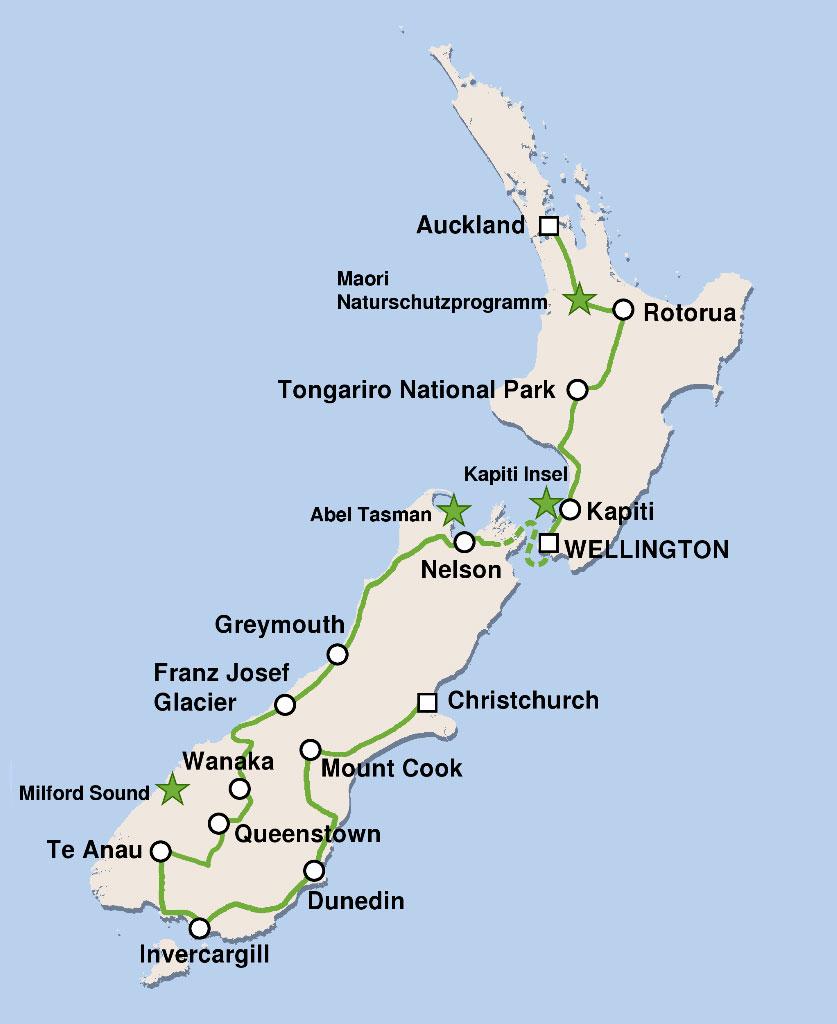 Natur Hautnah Erleben in Neuseeland