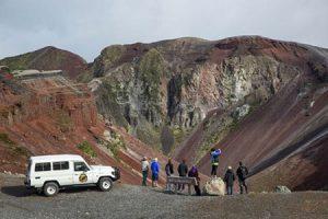 Wandern am Taravera Vulkan