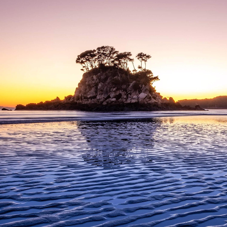 Wandern im Abel Tasman Nationalpark Neuseeland