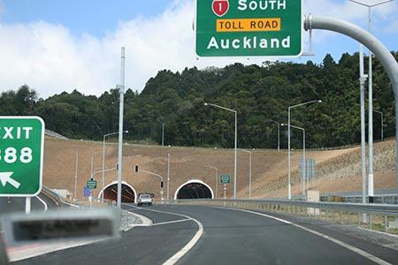Mautstrassen in Neuseeland